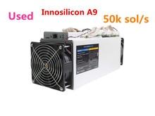 Используется Innosilicon A9 ZMaster 50 k sol/s с 750 w PSU Equihash Asic шахтер Zcash ZCL ZEC BTG Шахтер лучше чем Antminer Z9 Z9 мини