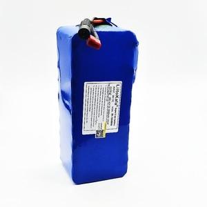 Image 4 - LiitoKala 36 V 500 W batteria 18650 batteria al litio 36 V 8AH Con bms batteria Elettrica della bici con il PVC caso per la bicicletta elettrica