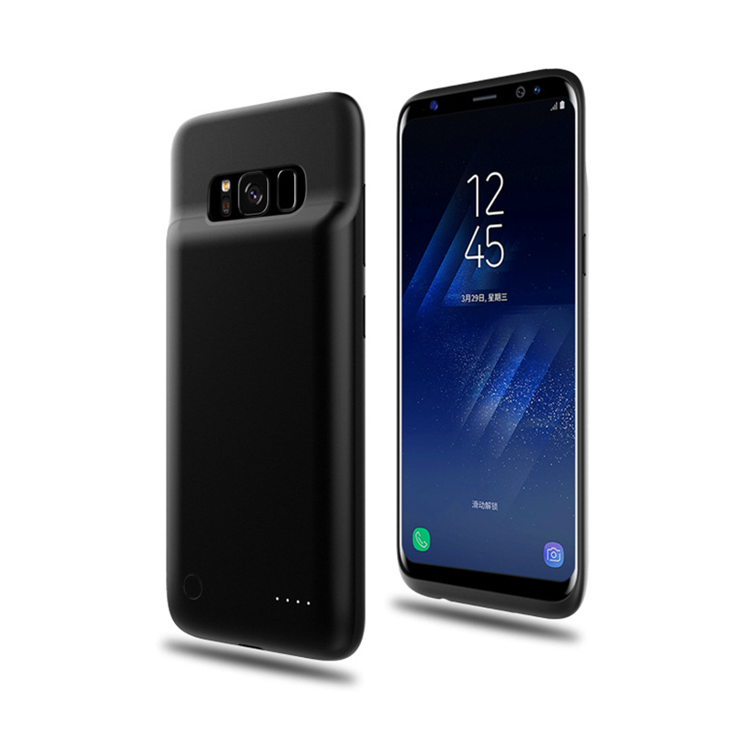 4000mAh Magnetic Battery Charger Cases For Samsung Galaxy S8 Plus Battery Case Ultra Slim Backup Power Bank For Samsung S8 Plus