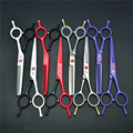 1012Z 5.5'' 16cm Purple Dragon Hairdressing Scissors JP 440C Cutting Scissors Thinning Shears Professional Human Hair Scissors