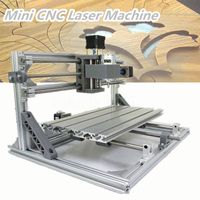 3 Axis Mini CNC Laser Machine PCB PVC Milling Wood Router Engraver Printer Mayitr Carving Tools