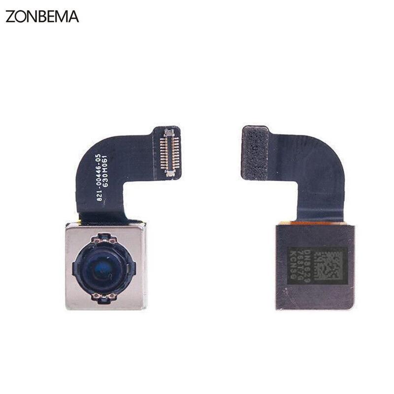 Zonbema teste original voltar câmera traseira com flash módulo sensor cabo flexível para iphone 7 plus 4.7