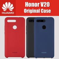 Honor View 20 Official Original liquid Silicone Honor V20 Case 6.4 inch HUAWEI Kirin 980 PCT AL10 Protector Back Cover