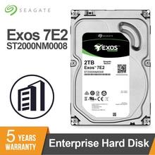 Seagate Exos 7E2 SATA 6 ГБ/сек. 128 МБ кэш 3,5 дюйма 2 ТБ HDD корпоративный жесткий диск ST2000NM0008