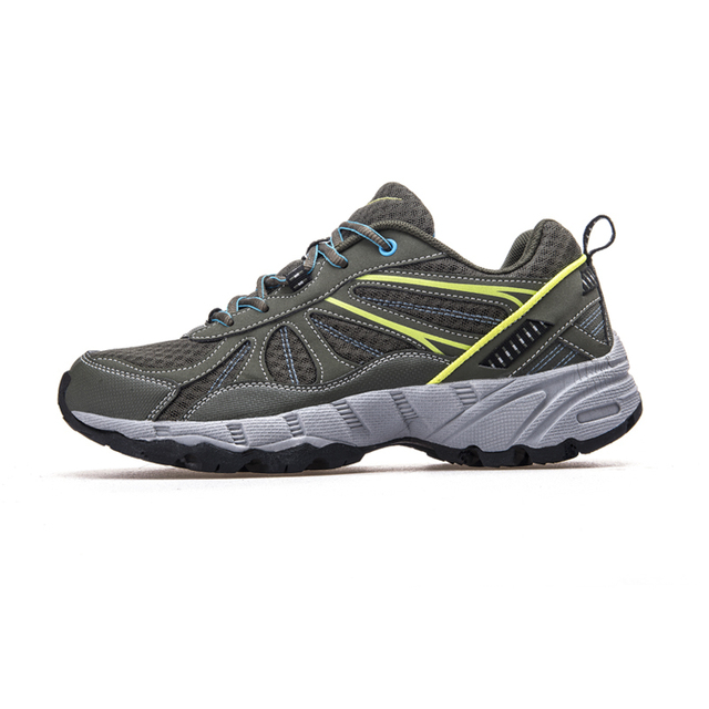 DOUBLESTAR MR Men Running Shoes Lace-UP Shoes Comfortable Mesh Breathable Sneakers Athletic Shoes Outdoor Sport Shoes#WDSM-9071