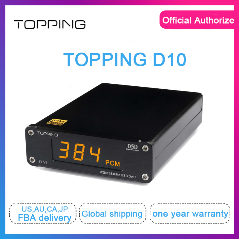 Topping D10 usb dac dac audio usb xmos xu208 ES9018K2M spdif out dac audio hifi Decoder Amplifier Coaxial Optical out Support
