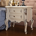 European Table White Dark French Bedroom Bedside Cabinet Drawer Storage Cabinets Furniture Garden Small Cabinet