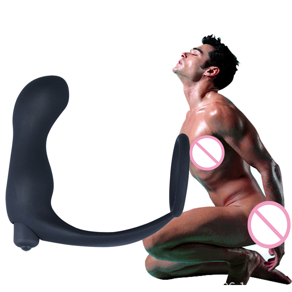 Silicone Waterproof G Point Stimulate Prostate Massager Anal Vibrator Sex Toys 704#