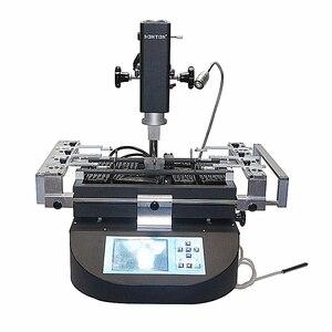 Image 1 - HONTON R490 паяльная станция для ремонта материнской платы телефона с тремя температурными зонами, горячим воздухом, 220 В 110 В