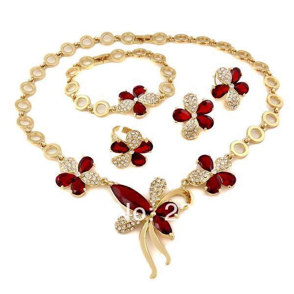 2014 brand jewelry set Pakistani bridal dubai gold jewelry sets