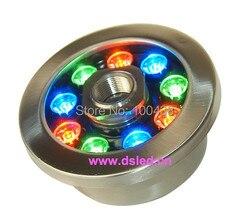 CE  IP68  ze stali nierdzewnej  wysoka moc 9 W RGB podświetlana fontanna LED  RGB podwodne światło LED  DS 10 36 9X1 W  12 V DC  zmiana koloru RGB |led light|light led lightpower led light -