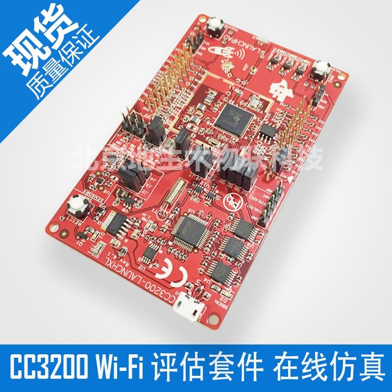 CC3200-LAUNCHXL Evaluation Suite Wi-Fi Module CC3200 LaunchPad Development Board module xilinx xc3s500e spartan 3e fpga development evaluation board lcd1602 lcd12864 12 module open3s500e package b