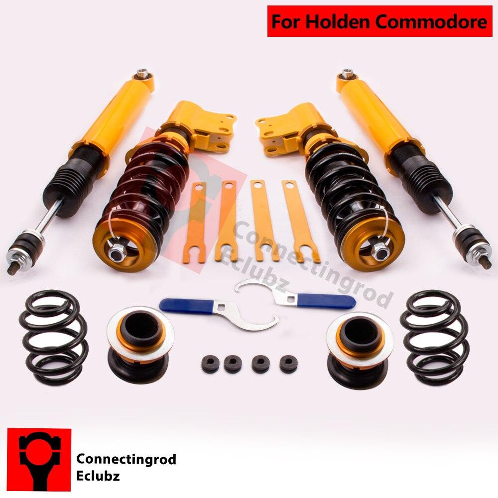 Для Holden Commodore VY VT VZ VX adj. Высота coilover койловеров амортизатор Caprice седан Подвески универсал Топ крепление развал