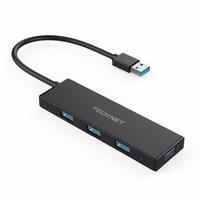 TECKNET USB3.0 HUB Super Speed Externe 5 Port Usb Splitter avec Micro Usb Interface pour Macbook Air Ordinateur Portable PC Ordinateur Hubs Usb