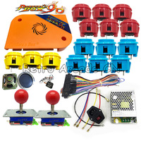 Pandora box 9D Jamma board 2222 in 1 with zippy joystick push button DIY Arcade kit For coin operated game machine Pandora's 9