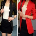 ZALA CHIC LONG SLEEVE SLIM FIT BLAZER JACKET TWO Color Top Quality Free Shipping F4089