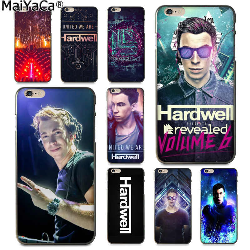 Música do DJ Hardwell MaiYaCa Moda caixa do telefone para Apple iphone 11 Dinâmica Divertida pro 8 7 66S Plus X 5S SE XS XR XS MÁXIMA Cobertura