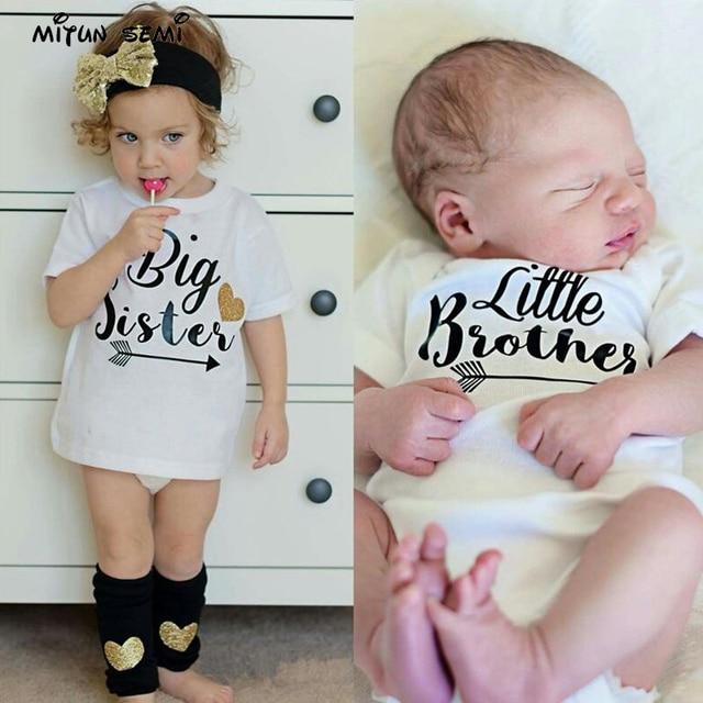 1f31f4fd Personalized Big sister, little brother shirts, sibling shirt, matching  shirt sets
