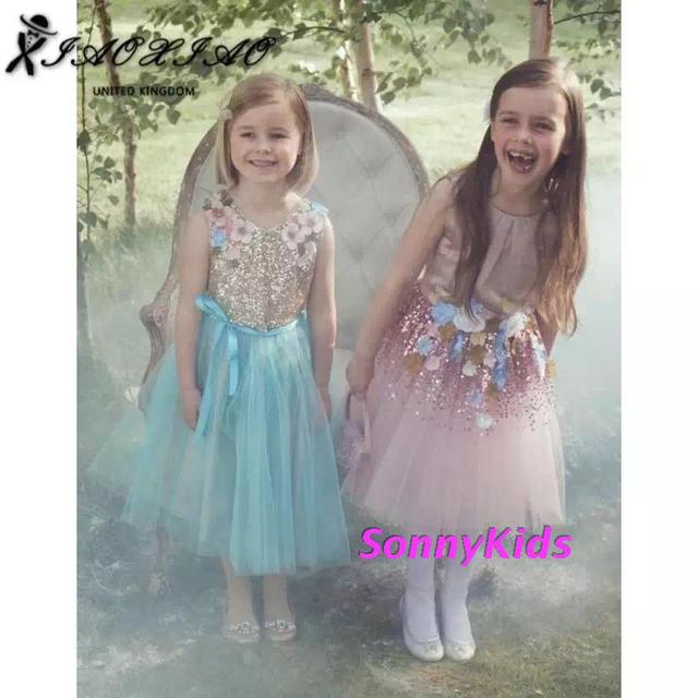 MONSOON New Children Wedding Dress Baby Girls Dresses Kids Striped ...