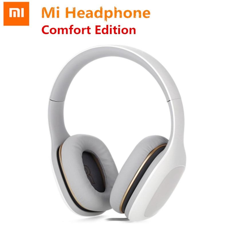 Original Xiaomi Mi Headphone Comfort Global Version With Mic Xiaomi Headset Noise Cancelling Stereo Music HiFi Earphone mi headphones comfort white