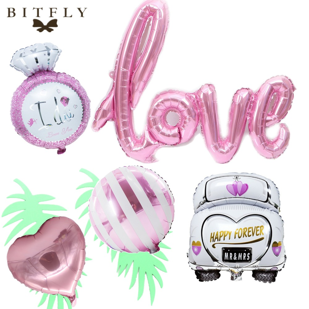 1pcs Diamond Balloon Golden Crown Aluminum Foil Balloon Inflatable Wedding Valentines Decoration Bachelorette Party Supplies Event & Party Ballons & Accessories