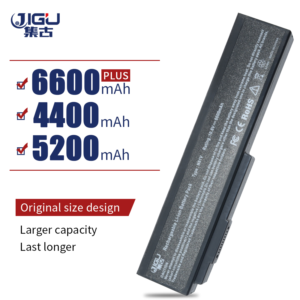 JIGU Batterie D'ordinateur Portable Pour Asus M50, M50Q, M50S, M50Sa, M50Sr, M50Sv, M50V, m50Vc G50G, G50V, G51JX, G60, G60JX, G60J, 0G6V A32-M50 A33-M50