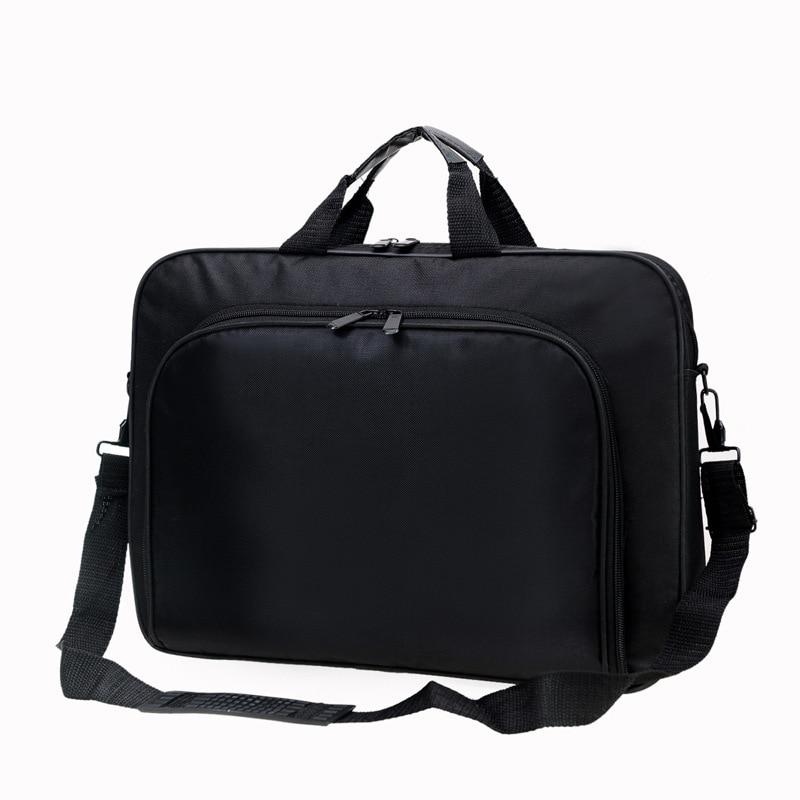 Portable Nylon Business Office Male Messenger Bag Men Briefcase For Document Zipper Laptop Computer Handbag Shoulder 15.6 Tablet