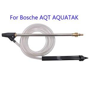 Image 1 - Bagnato Sabbia Blaster Set con 3m di tubo per Nilfisk Bosch AQT Decker Quick Connect di Lavaggio Ad Alta Pressione di Sabbiatura Pressione pistola