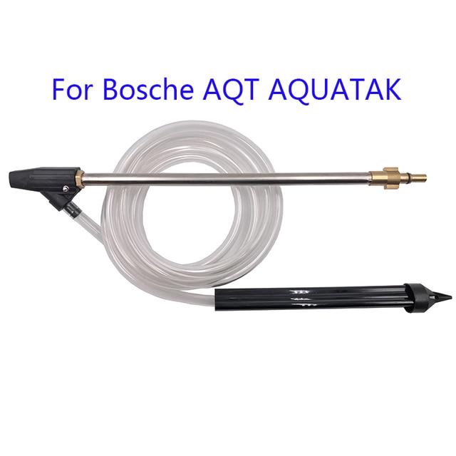 רטוב חול Blaster סט עם 3m צינור עבור Nilfisk בוש AQT Decker מהיר להתחבר גבוהה לחץ מכונת כביסה פיצוץ לחץ אקדח