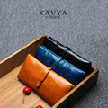 SALE!!  FREE SHIPPING 100% First Layer of Genuine Leather Wallet Women's Long Section Retro Purse Fashion Clutch Bag