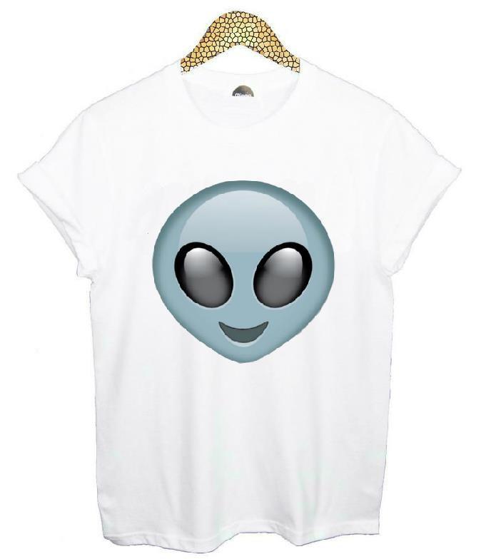HTB1365iHVXXXXXcXpXXq6xXFXXXj - Emoji Smile Women T Shirt