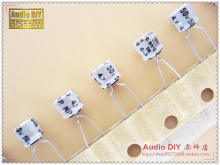 30PCS Rubycon old light gray NW5 4.7uF/50V small volume non-polar electrolytic capacitor free shipping