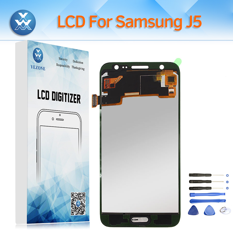 100% Adjustable LCD Screen for Samsung Galaxy J5 2015 J500 SM-J500FN LCD Display Touch Digitizer Assembly for J500M J500A