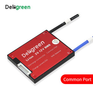 Deligreen 3S 15A 12V PCM/PCB/BMS for 3.7V lithium battery pack 18650 Lithion LiNCM Li-Polymer Battery Pack