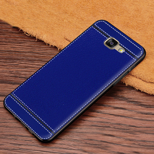 Image 3 - Case for Galaxy A7 2016 Leather Texture Soft TPU Case For Samsung Galaxy A7 2016 A710 A7100 A710F A710M