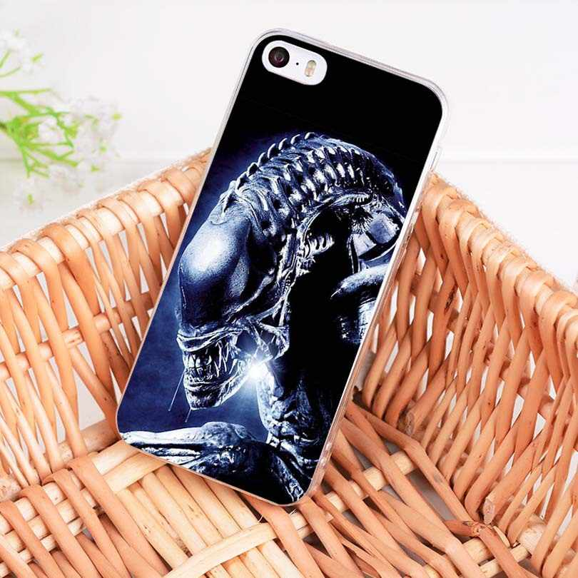 MaiYaCa Alien vs Predator Luxus Hybrid telefon fall für Apple iPhone 8 7 6 6S Plus X 5 5S SE 5C fall Abdeckung