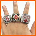 2004/2007/2013 BOSTON RED SOX WORLD SERIES CHAMPIONSHIP RING, 3 PCS RING SET COLLECTION