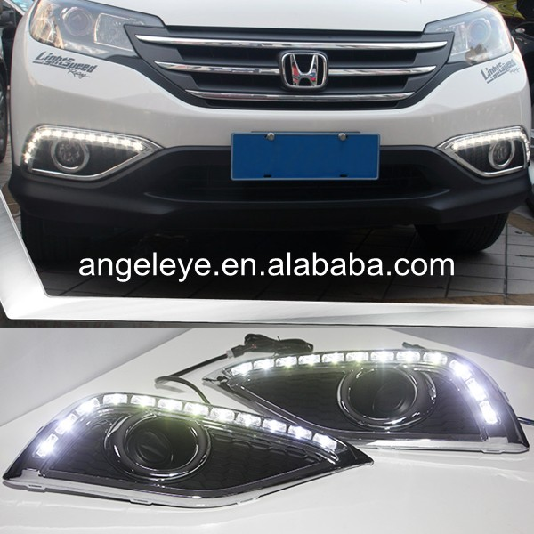 For Honda for CRV 2012-2013 year LED DRL Daytime Running Light bigbang 2012 bigbang live concert alive tour in seoul release date 2013 01 10 kpop