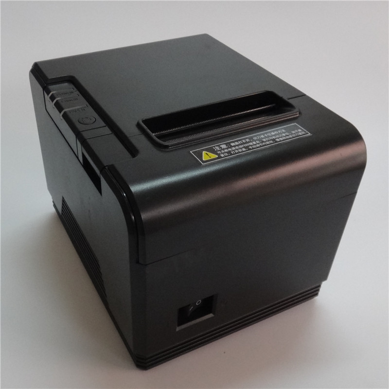 все цены на wholesale 80mm thermal printer High quality receipt Small ticket barcode POS printer Appearance fashion have Automatic cutter онлайн
