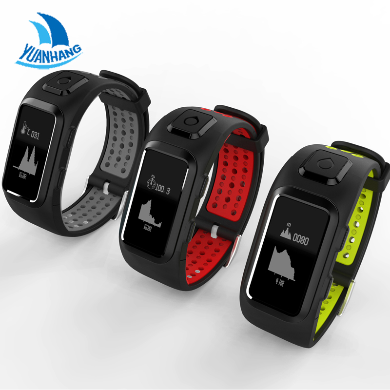 Yuanhang Smart Bracelet SmartBand Band GPS Tracker Heart Rate Fitness Sleep Monitor IP68 Waterproof Sport Watch for IOS Android ttlife fashion smart watch sleep monitor wearable fitness tracker waterproof ip54 smart bracelet for xiaomi iphone 7 ios android