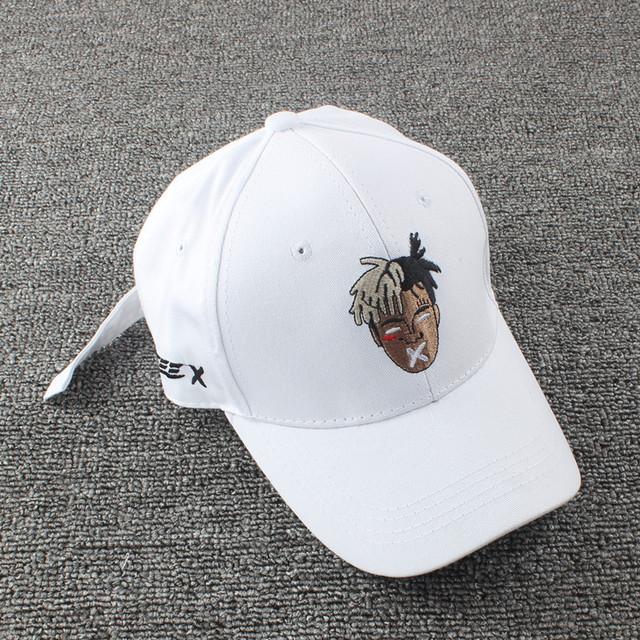 High quality cotton singer xxxtentacion Dreadlocks Snapback Cap for men women Hip Hop dad hat Bone Garros hat