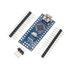 10 ШТ. Продвижение Funduino Nano 3.0 Atmega328 Контроллера Совместимы Доска для Arduino Модуль PCB Совета Развития без USB