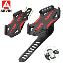 Arvin Universal Phone Holder Anti-Slip Silicone Motorcycle Bicycle For iPhone X XS Samsung Huawei Cell Stand Mount