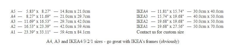 size infomation