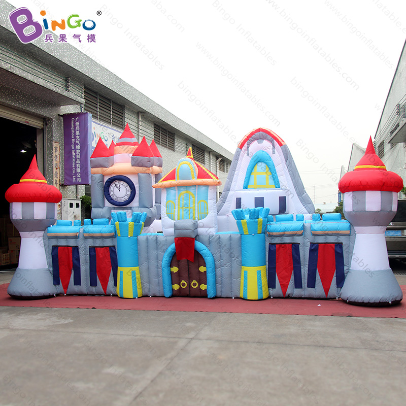 Free shipping 8X1.8X3.5 meters inflatable castle for Chidren's Day decoration customized blow up naughty castle for party toys free shipping 10m giant inflatable octopus model with digital printing for advertising blow up squid for decoration show toys