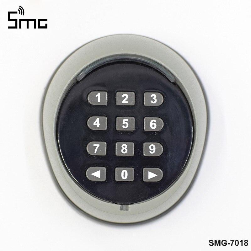 Télécommande et récepteur de commutateur de mot de passe de clavier sans fil pour le contrôle d'accès de porte de porte de garage 433MHz de haute qualité - 3