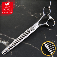 Fenice 7.0 inch Professional Pets Grooming Scissors Thinning Shears for Dogs/Cats Thinning Rate 65-70% Japan 440C цена
