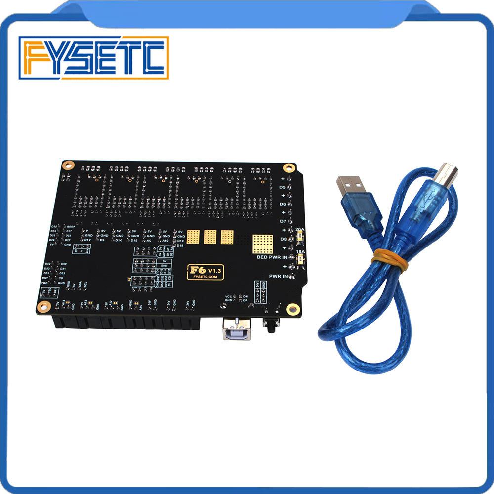 Image 5 - FYSETC F6 Board ALL in one Electronics For 3D Printer CNC Devices Up to 6 Motor Drivers With easy Micro steps VS SKR V1.3-in 3D Printer Parts & Accessories from Computer & Office
