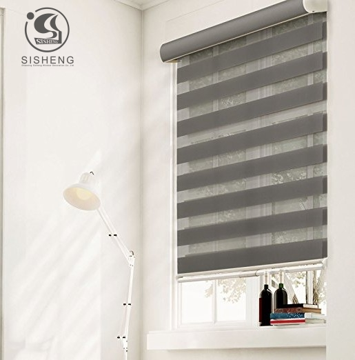 Canada And America Fashion Plain Coloration Mild Filtering Zebra Window Blinds