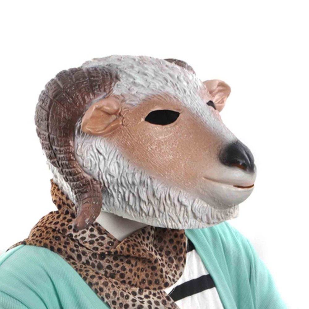 Online Buy Wholesale goat halloween mask from China goat halloween ...